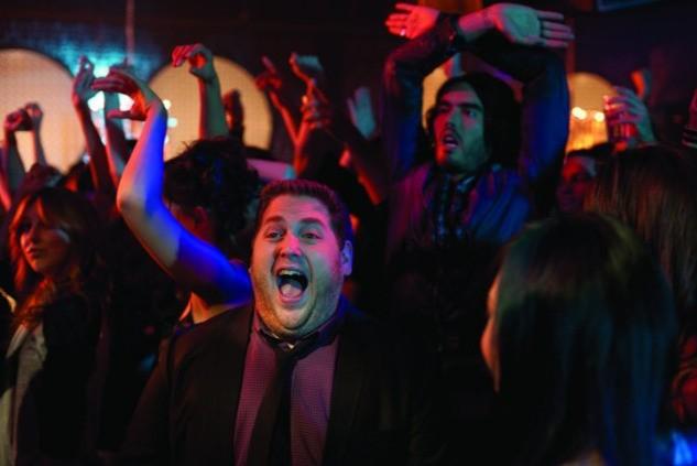 Jonah Hill in un'immagine della commedia Get Him to the Greek