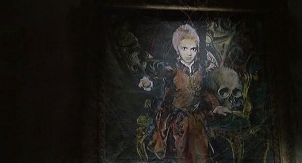 L'inquietante ritratto di Melissa Graps del film Operazione paura