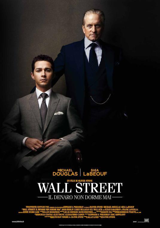 La locandina italiana di Wall Street 2: Money Never Sleeps