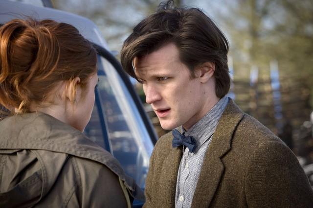 Matt Smith e Karen Gillan dall'episodio Amy's Choice di Doctor Who