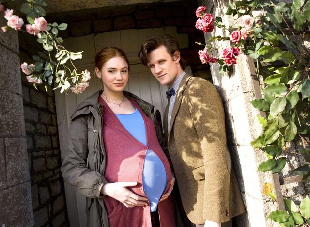 Matt Smith e Karen Gillan in una scena dell'episodio Amy's Choice di Doctor Who