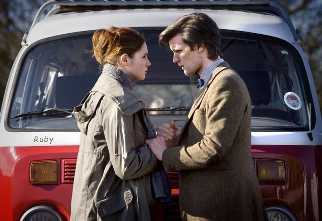 Matt Smith e Karen Gillan nell'episodio Amy's Choice di Doctor Who