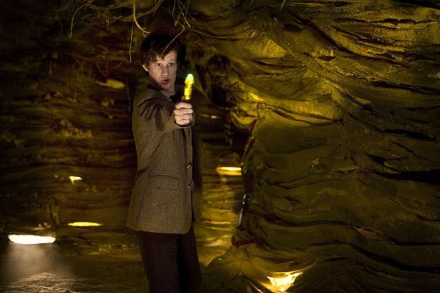 Matt Smith in una scena dell'episodio Cold Blood di Doctor Who