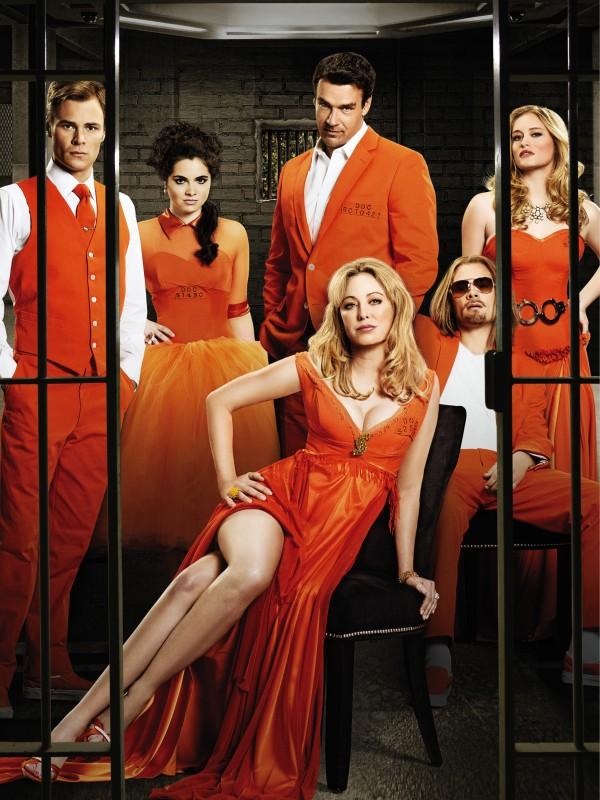 Scoundrels: una foto promozionale del cast della serie