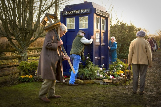 Un momento dell'episodio Amy's Choice di Doctor Who