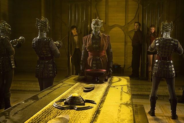 Un momento dell'episodio Cold Blood di Doctor Who