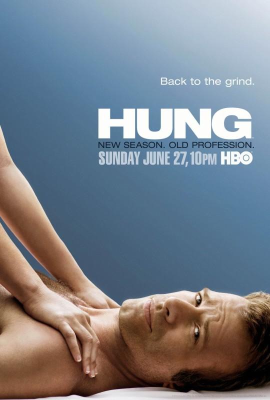 Un poster per la stagione 2 di Hung