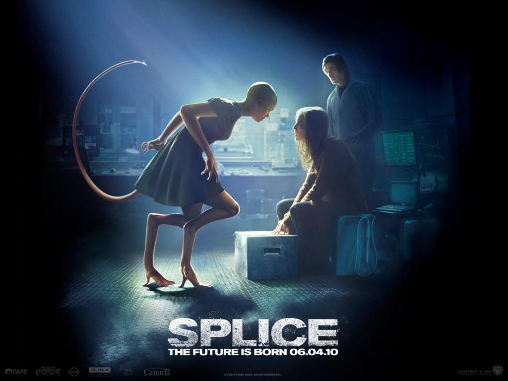 Un wallpaper del film Splice