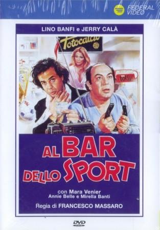 Copertina del film Al bar dello sport.