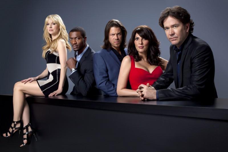 Il cast di Leverage in una foto promozionale della stagione 3