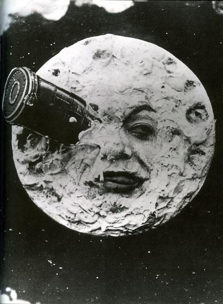 celebre immagine di Viaggio nella Luna