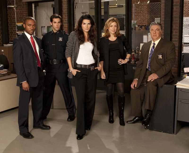 Una foto promozionale del cast della serie Rizzoli & Isles