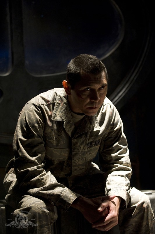 Lou Diamond Phillips in un momento dell'episodio Subversion di Stargate Universe