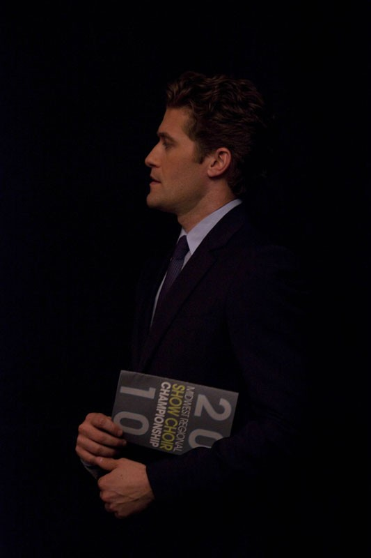 Will (Matthew Morrison) in una sequenza dell'episodio Journey di Glee