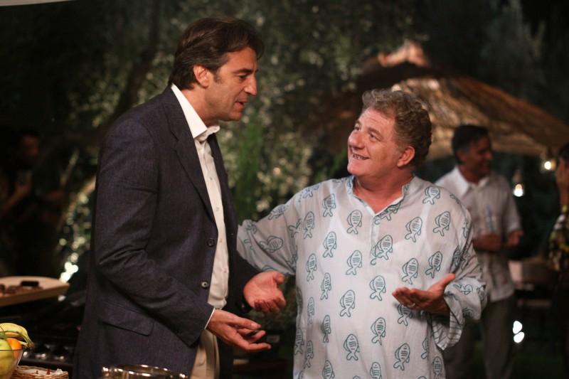 Antonello Fassari e Max Tortora nel film TV Nemici amici