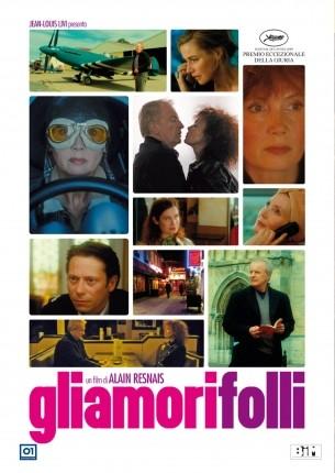 La copertina di Gli amori folli (dvd)
