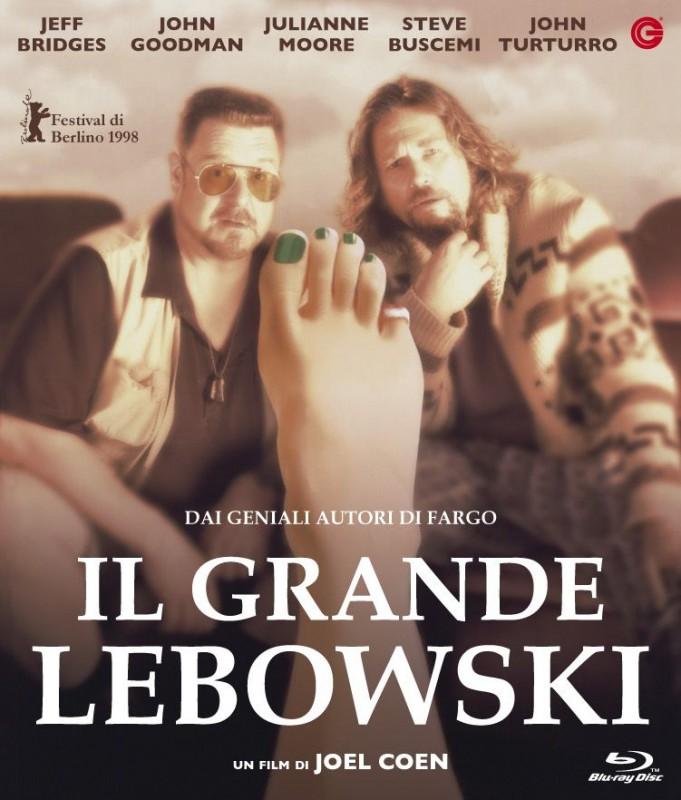 La copertina di Il grande Lebowski (blu-ray)