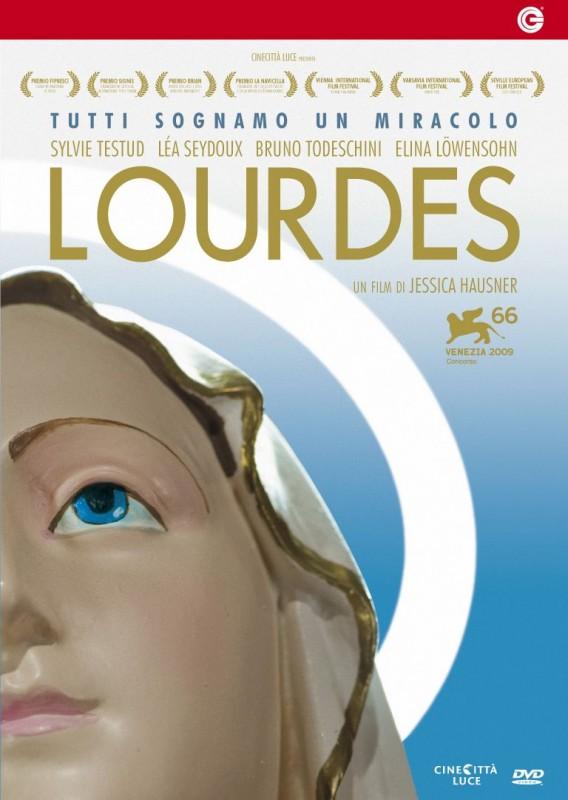 La copertina di Lourdes (dvd)