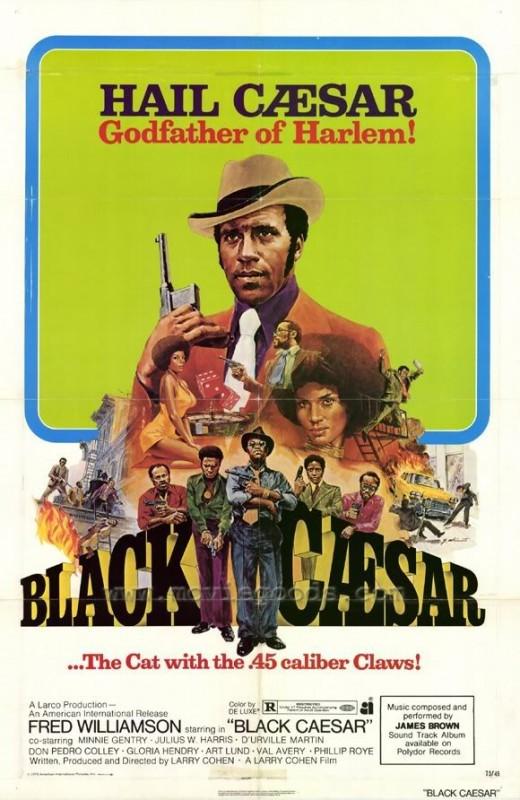 La locandina di Black Caesar - Il Padrino nero