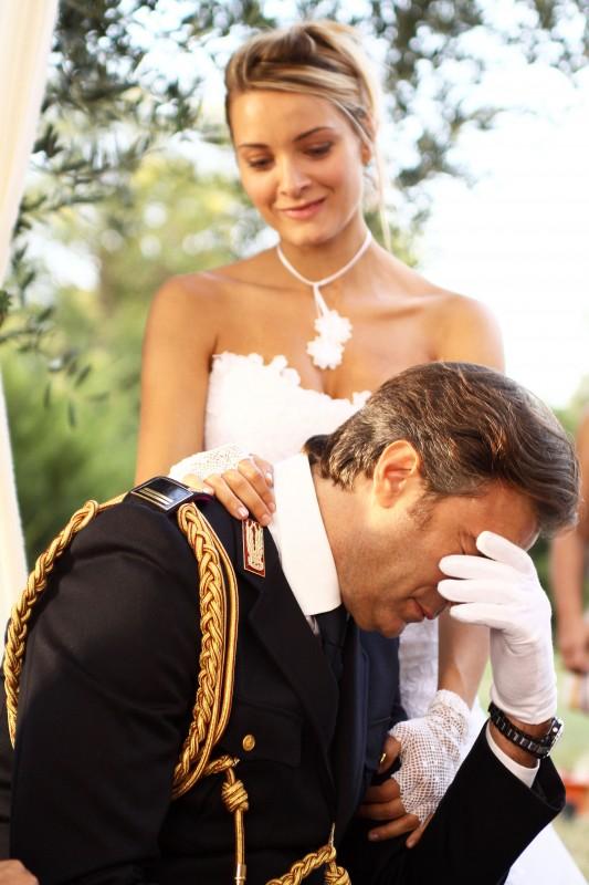 Max Tortora e Maria Rosaria Russo nel film tv Nemici amici