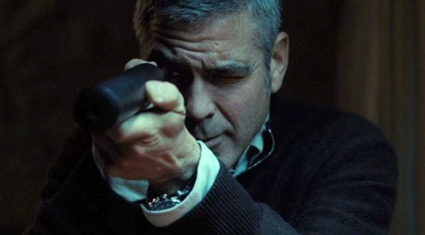 George Clooney nel film The American