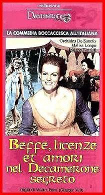 La locandina di Beffe, licenze et amori del Decamerone segreto