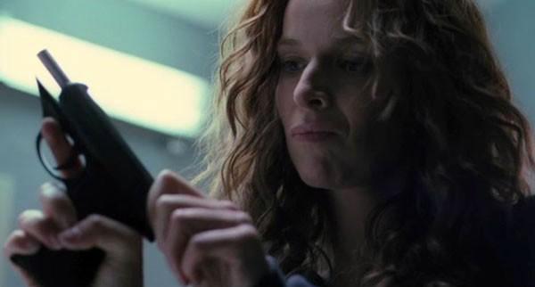 Violante Placido in una scena del film The American
