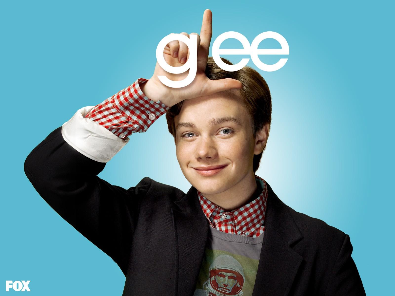 Wallpaper: Chris Colfer per la prima stagione di Glee