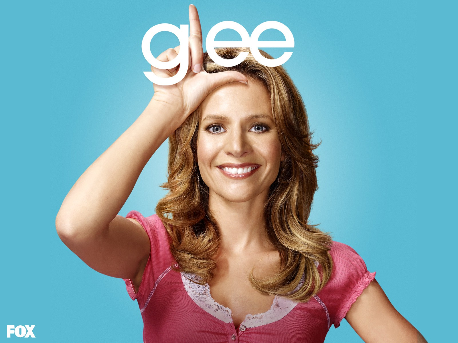 Wallpaper: Jessalyn Gilsig per la 1 stagione di Glee