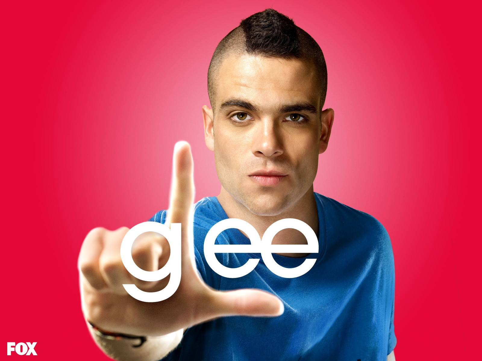 Wallpaper: Mark Salling per la stagione 1 di Glee