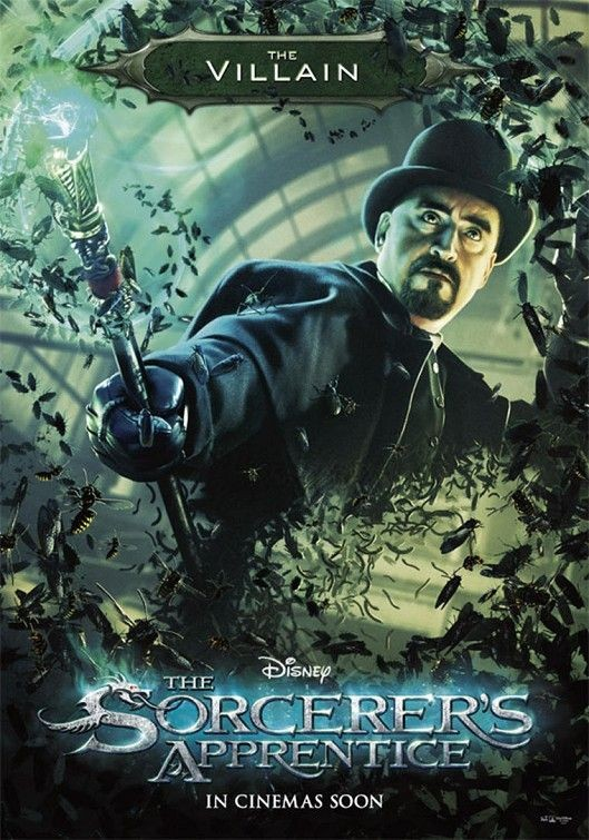 Character poster per The Sorcerer's Apprentice - The Villain