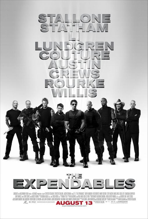 Final poster per The Expendables