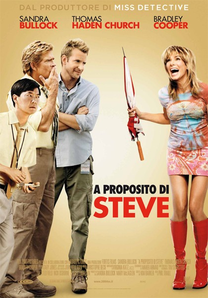 La locandina italiana di All About Steve