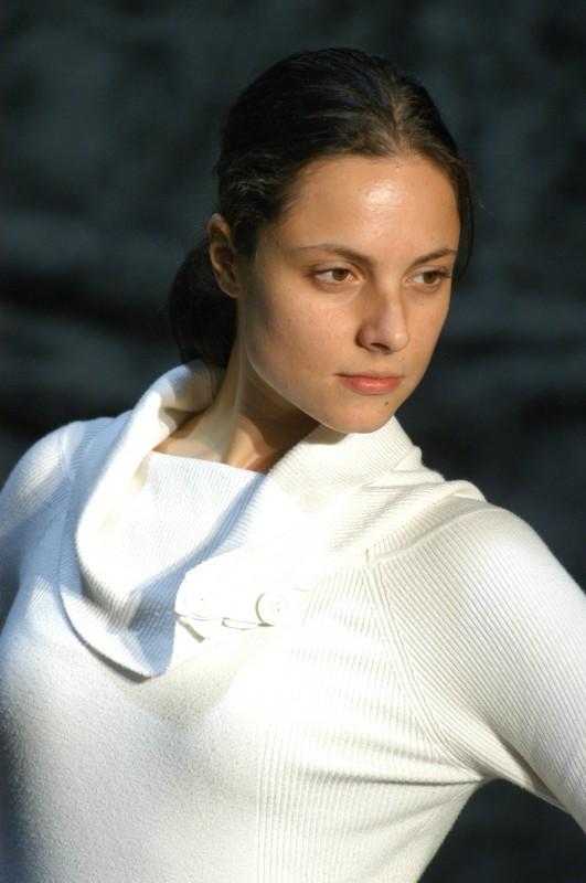 Lorenza Caroleo a teatro con Upupa My Dream is My Rebel King, regia di Antonio Orfanò