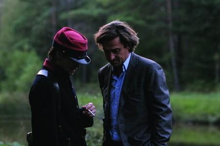 Louis-Do de Lencquesaing in una sequenza del film Le père de mes enfants (2009)