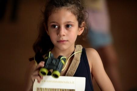 Manelle Driss in una scena del film Le père de mes enfants (2009)