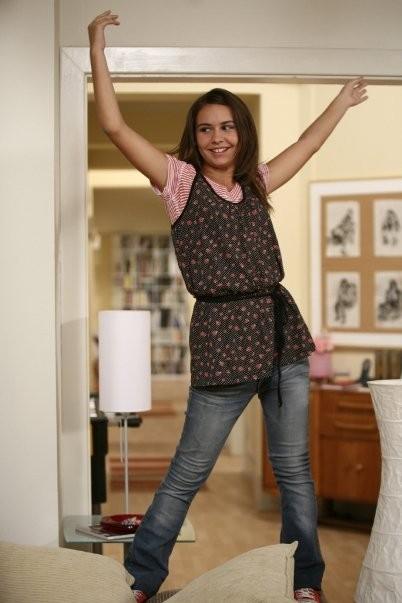 Nicole Murgia in un foto di scena di Tutti pazzi per amore