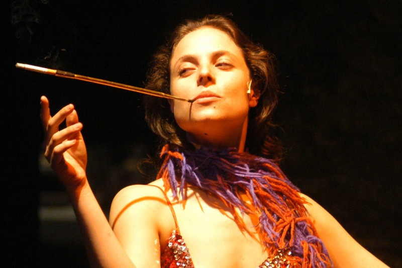 Torino, Teatro Carignano: Lorenza Caroleo in Upupa My Dream is My Rebel King (regia Antonio Orfanò)