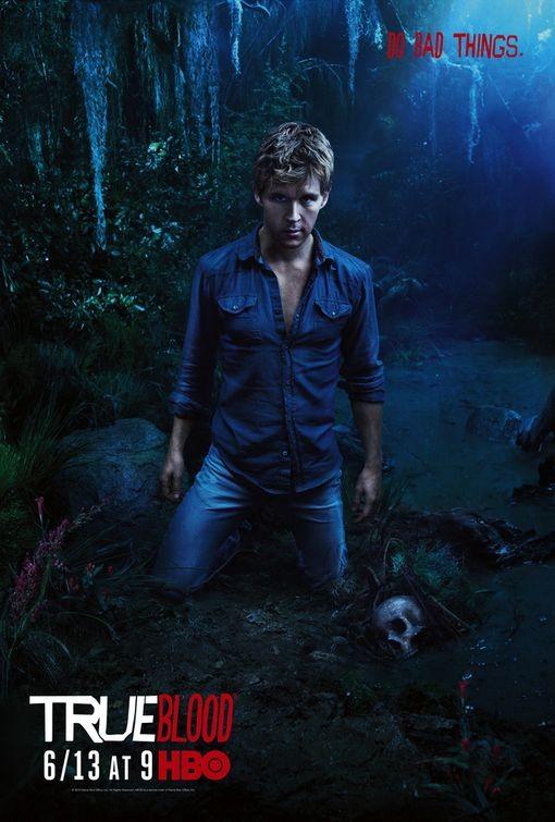 Character Poster della stagione 3 di True Blood dedicato al personaggio di Jason Stackhouse