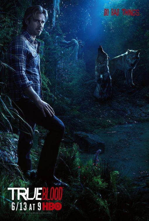 Character Poster della stagione 3 di True Blood dedicato al personaggio di Sam Merlotte