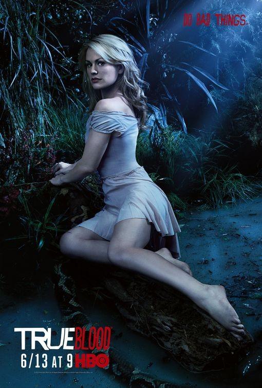 Character Poster della stagione 3 di True Blood dedicato al personaggio di Sookie Stackhouse