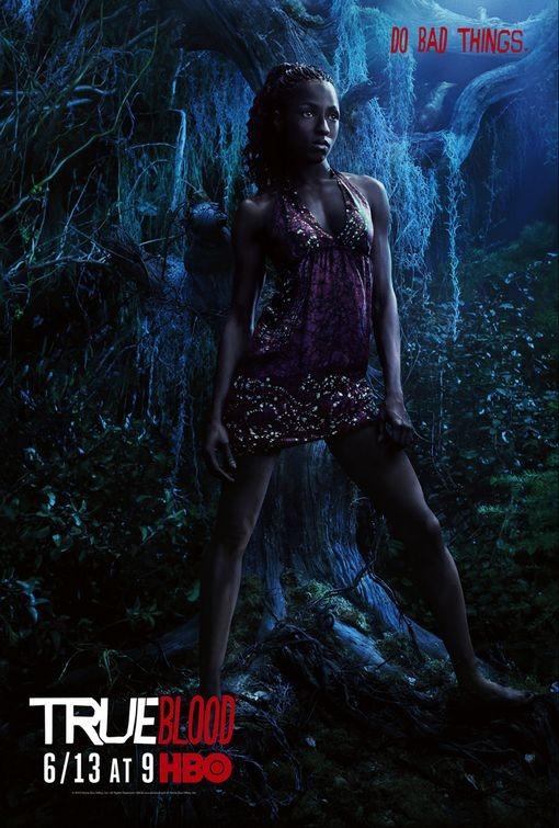 Character Poster della stagione 3 di True Blood dedicato al personaggio di Tara Thornton