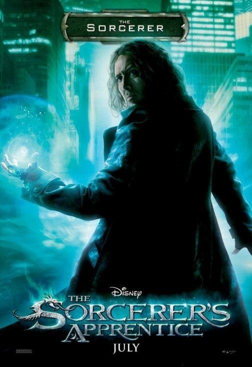 Character poster per The Sorcerer's Apprentice - The Sorcerer