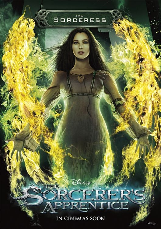 Character poster per The Sorcerer's Apprentice - The Sorcereress