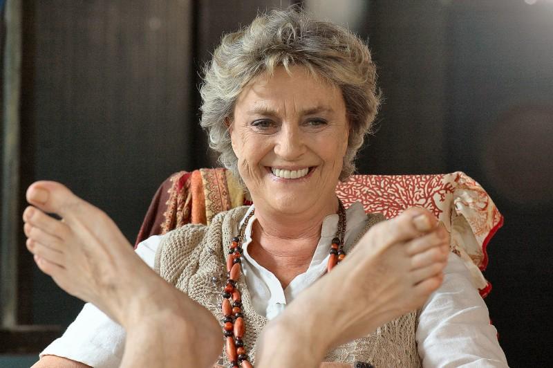Ilaria Occhini nel film Tutti al mare