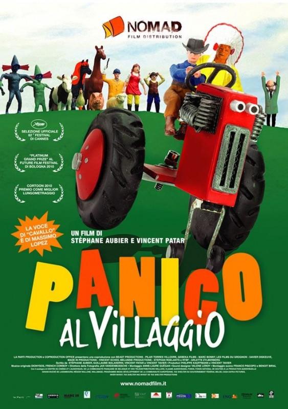 La locandina italiana di Panico al villaggio