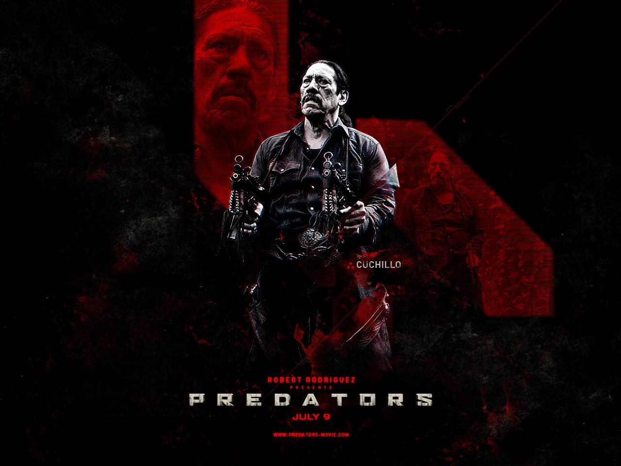 Poster di Predators dedicato a Cuchilo