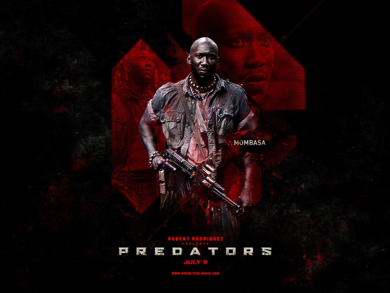 Poster di Predators dedicato a Mombasa