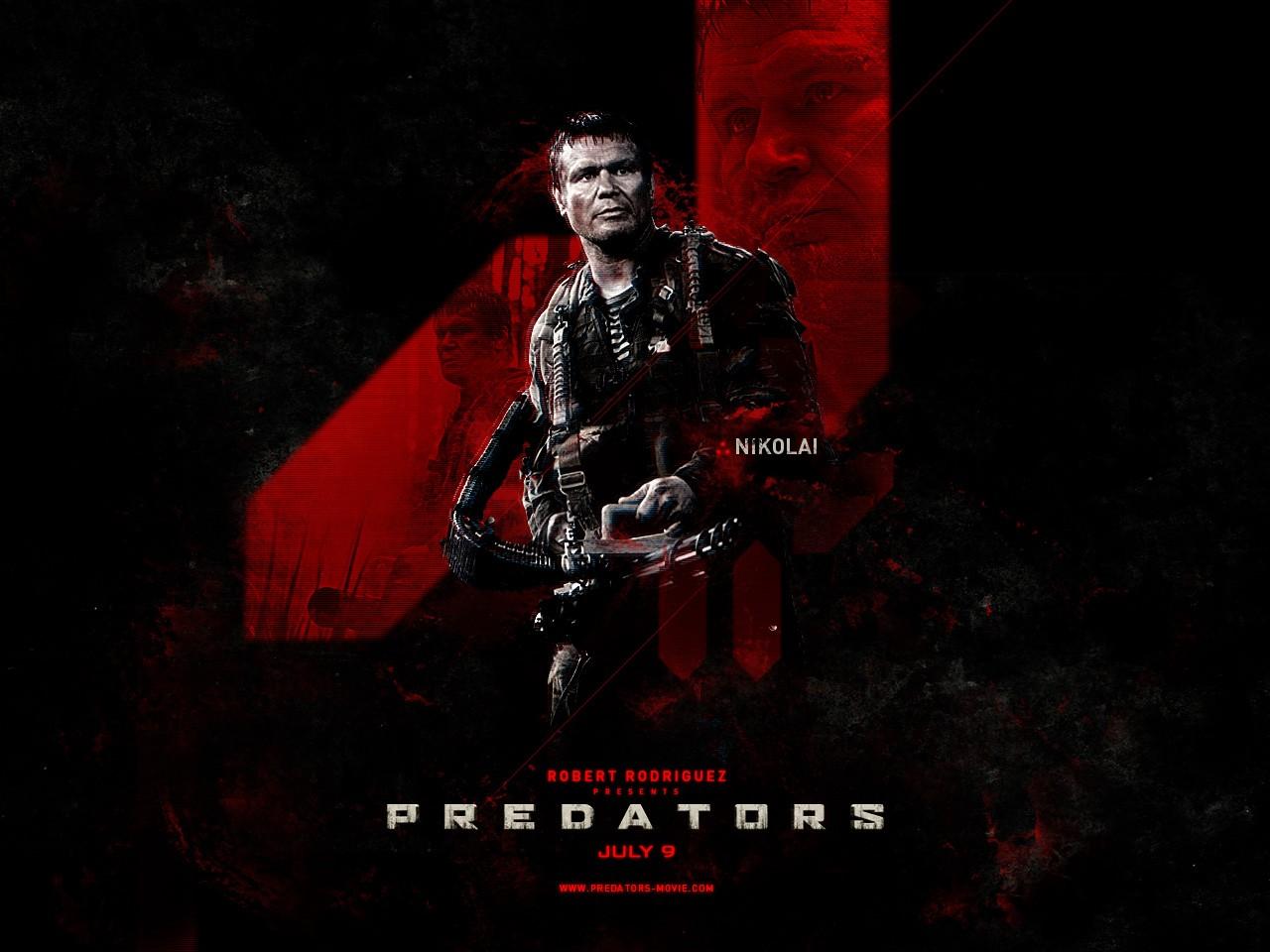 Poster di Predators dedicato a Nikolai