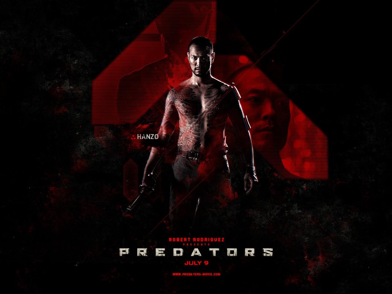 Poster di Predators dedicato d Hanzo